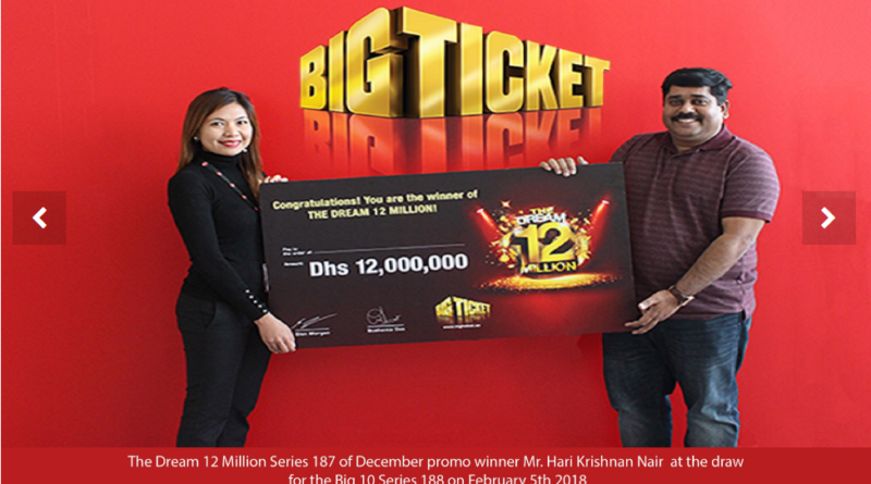 Abu Dhabi Lottery winner