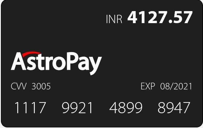 Astropay card