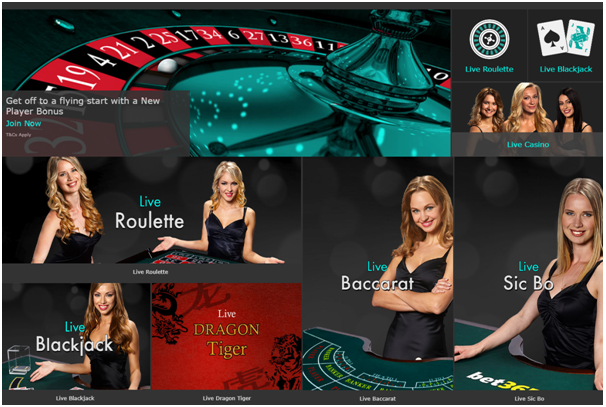 Bet 365- Play High Limit Blackjack