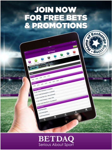 Betdaq- Sports betting app