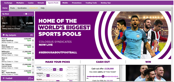 BetDaq- Sports betting