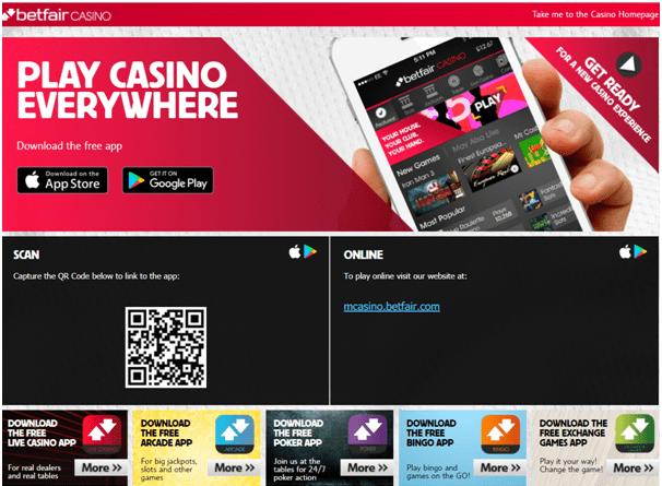 Betfair Casino India