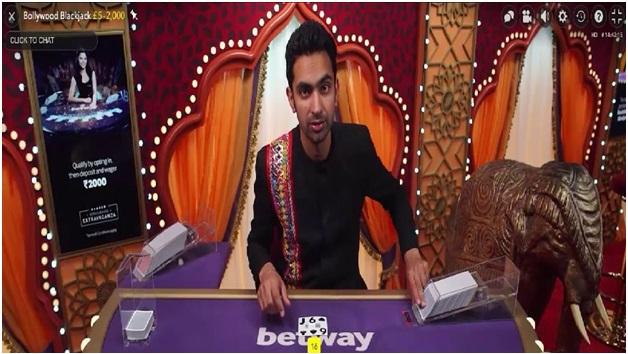 Betway Bollywood tables- Blackjack
