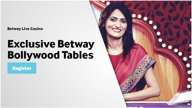 Betway Bollywood live tables