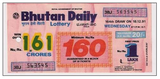 Bhutan Lotteries in India