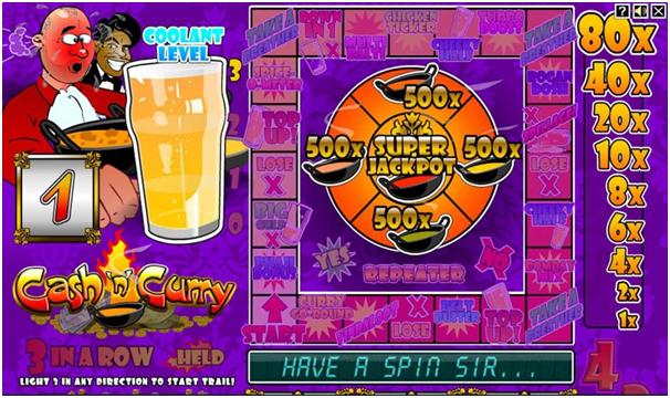 Bonus Game in Cash n Curry
