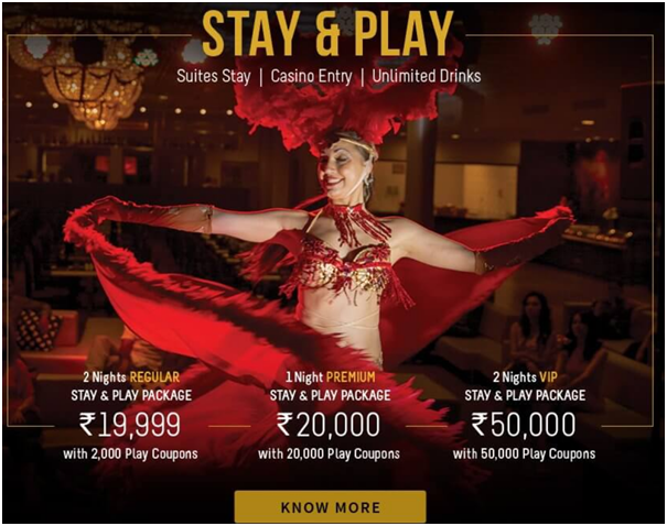 Stay and play at Deltin Royale Goa