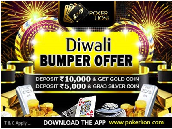 Diwali Bumper at Poker site