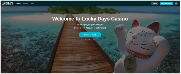 Lucky day casino INR
