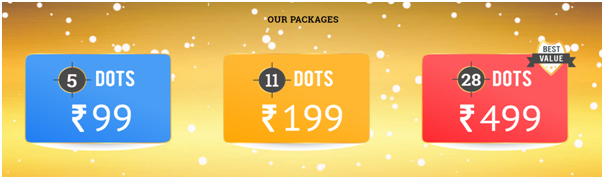 Game of Dots Costs