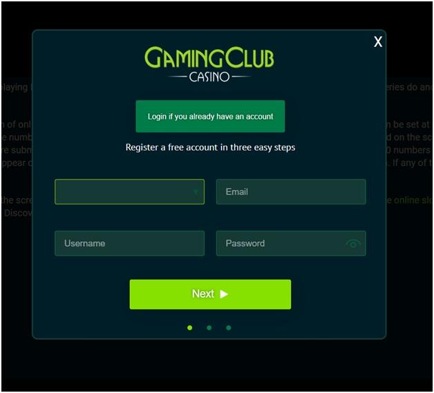 Gaming Club Casino India