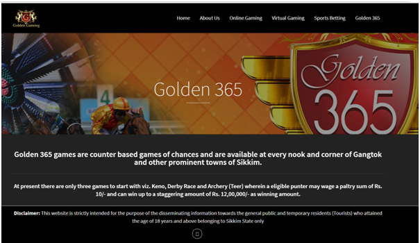 Golden Gaming India