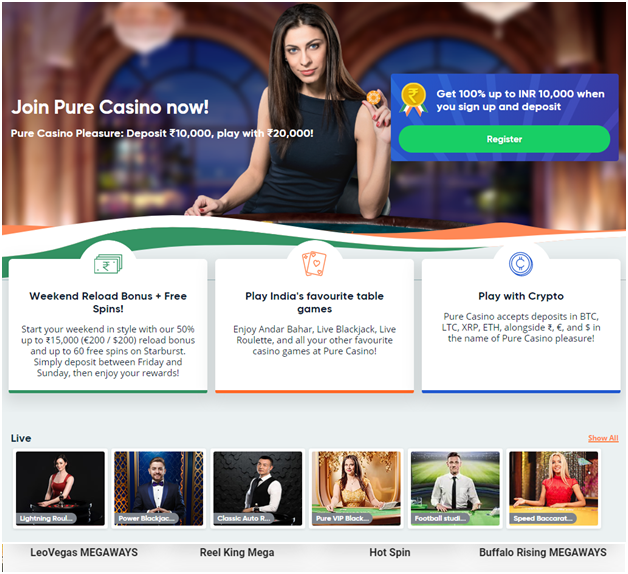 Google pay pure casino