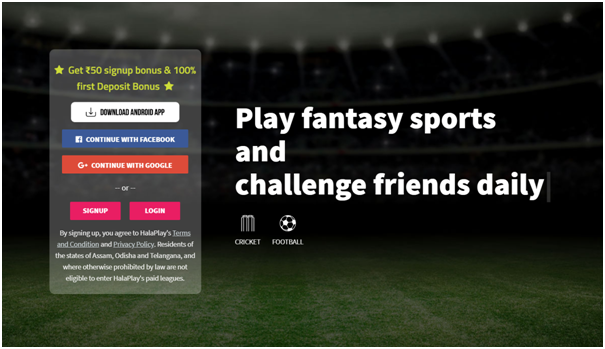 Halaplay Fantasy Sports