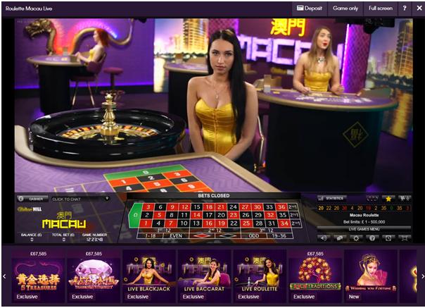 Casino Club Roulette Limit