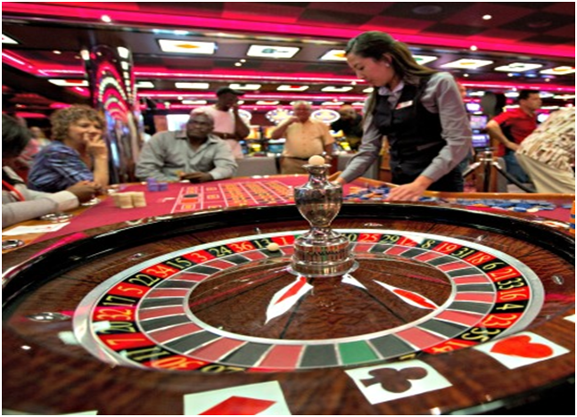 Casino Carnival High Limit Roulette tables