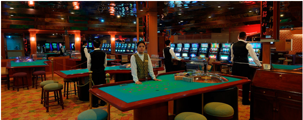 Chances casino and Resort- High Limit Roulette