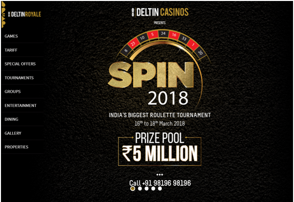 High Limit Roulette in India at Deltin Royale Casino Panjim