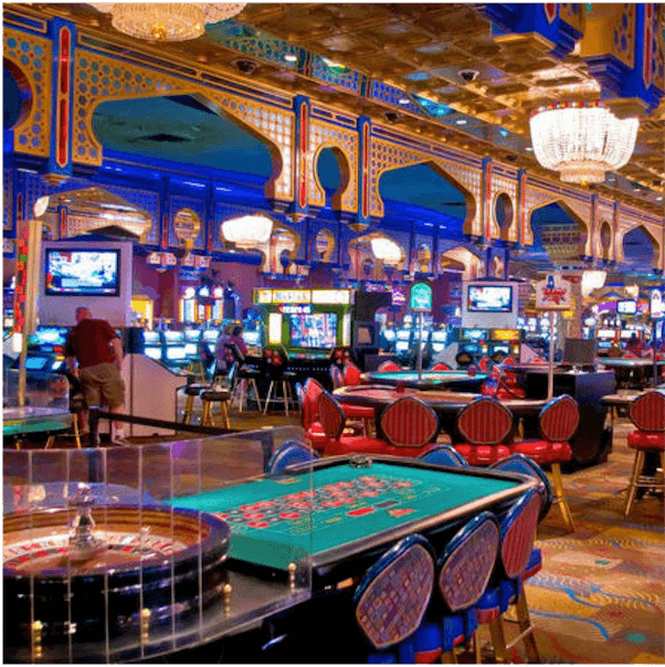 Table limits on roulette in vegas