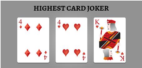 Highest Card Joker
