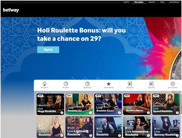 Holi Roulette Bonus
