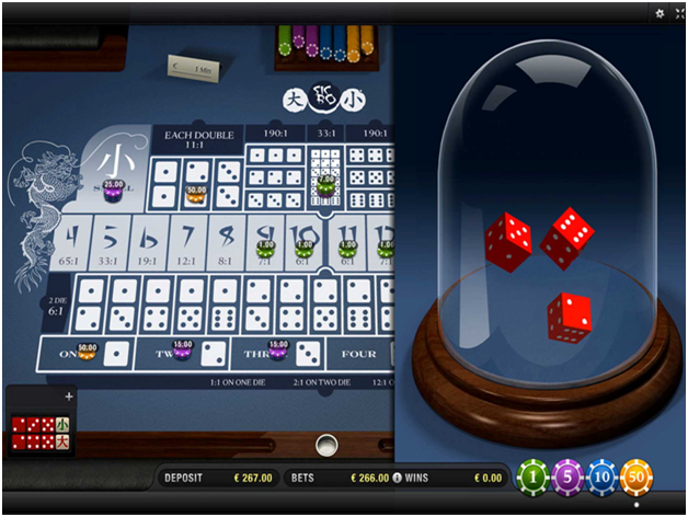 How to play online sic bo with real money at Indian online casins