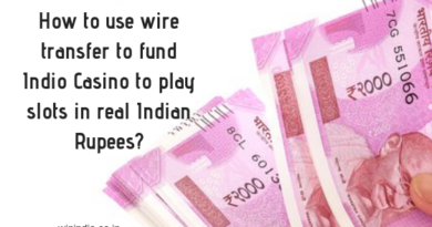 How to use wire transfer to deposit INR at online casinos