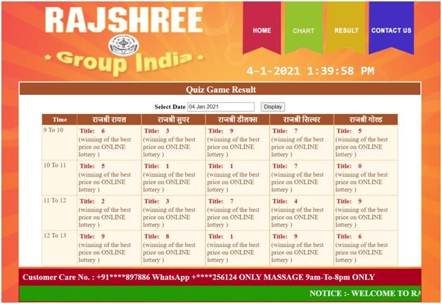 How to win Rajshree Lotteries