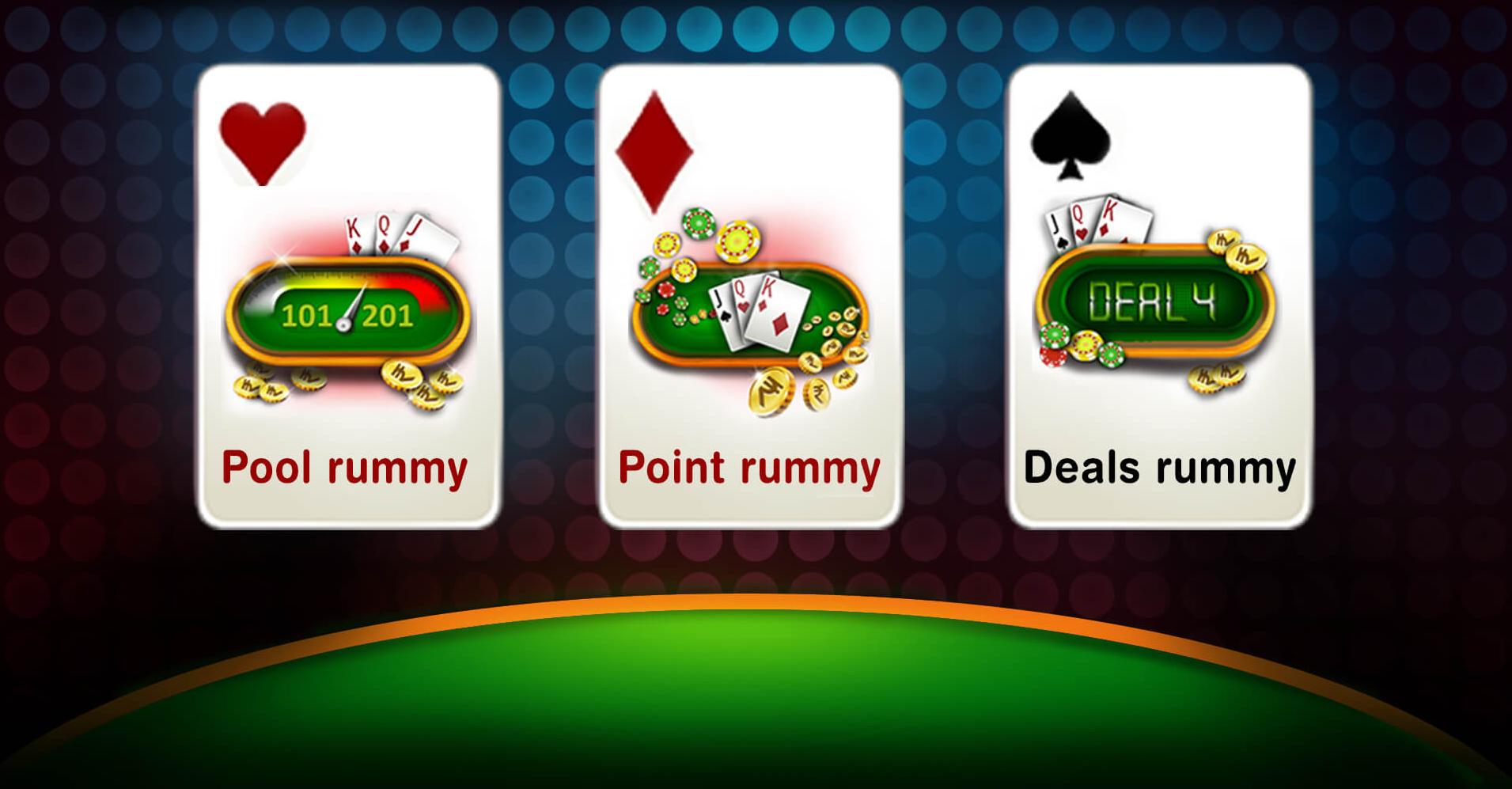 Indian Rummy types