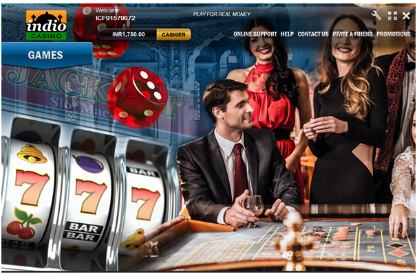 how to play online casino in india