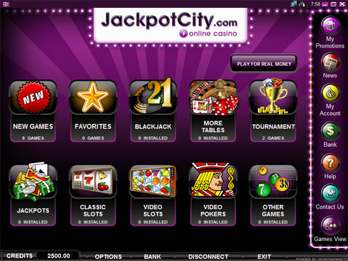 Jackpot City Online Indian casino to play slots