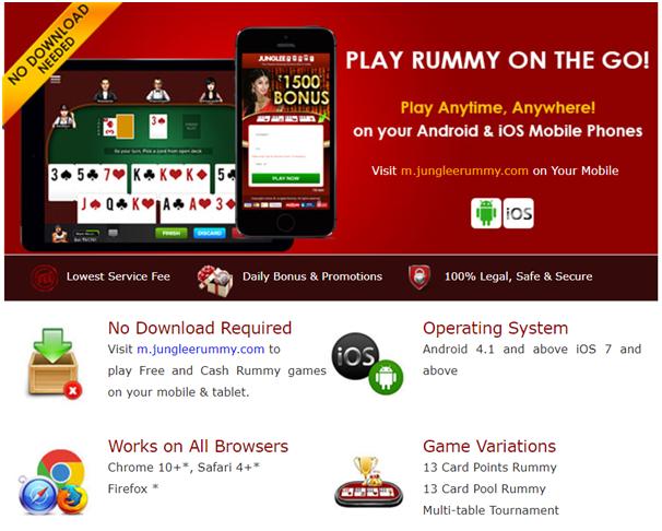 Junglee Rummy App