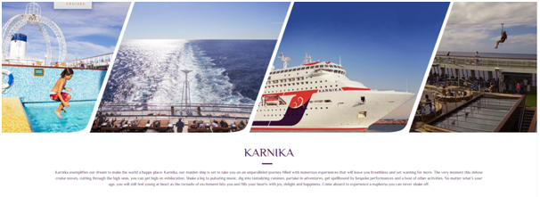 Karnika Cruise from Mumabi to Goa