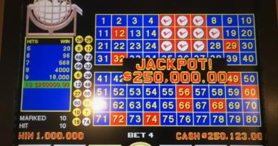 Keno at Royal Vegas Casino