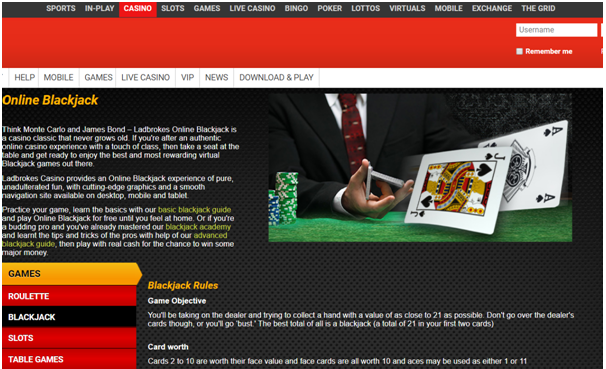 Ladbrokes- High Limit Blackjack