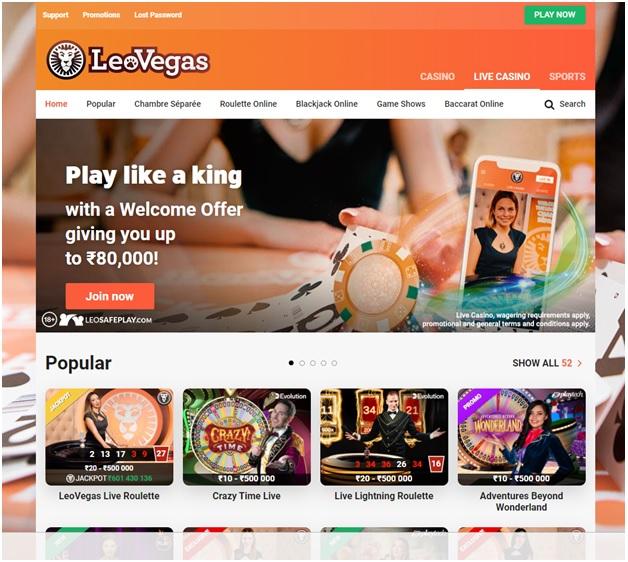 Leo Vegas Indian Casino