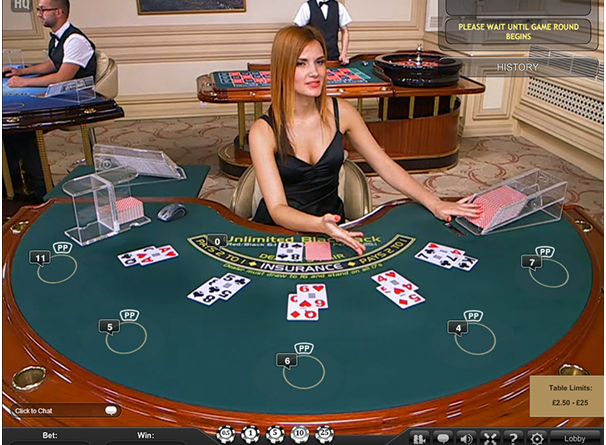 Play High Limit Blackjack online