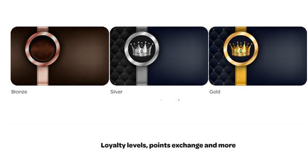 Loyalty club- Spin Casino