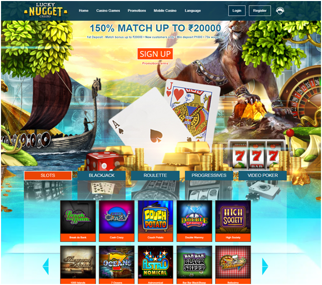 Lucky Nugget Indian online casino