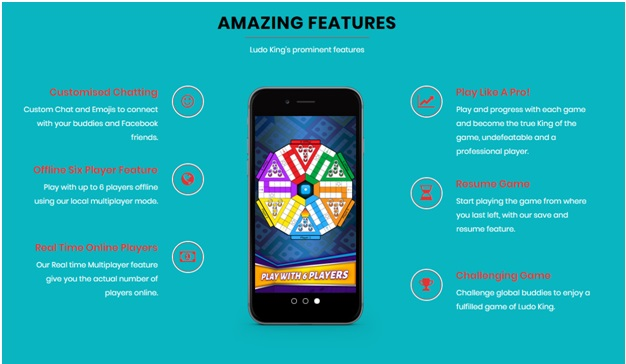 Ludo King App features