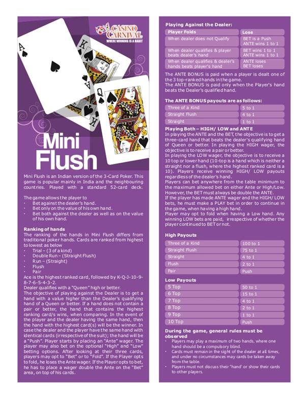 Mini Flush