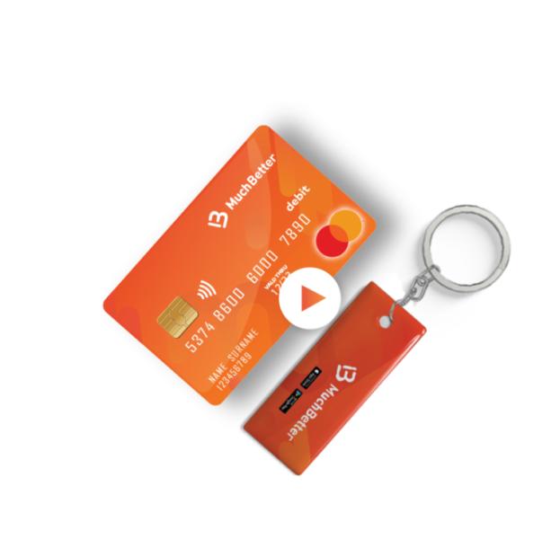 Much better orange card