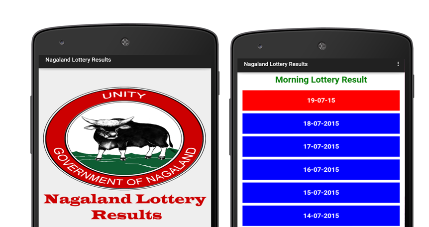 Nagaland state lottery app