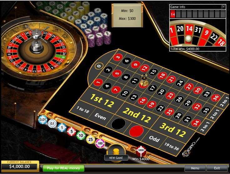 Playtech European Roulette for Indians