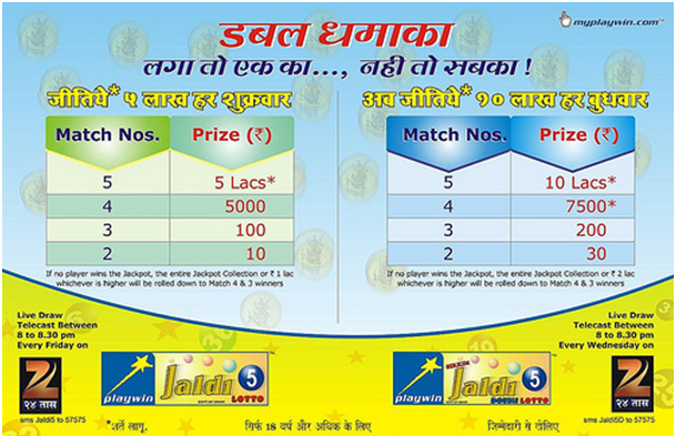 Playwin lottery games