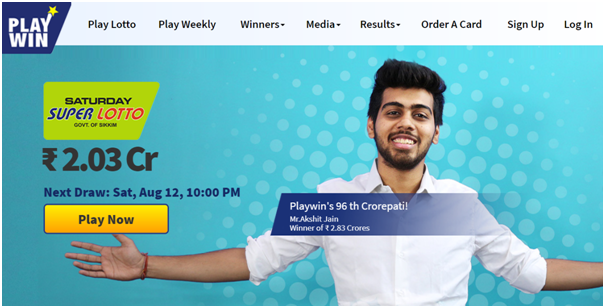 Playwin lottery in India