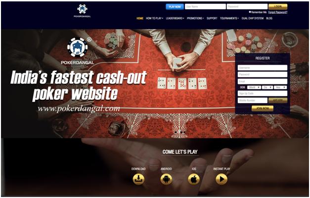Poker Dangal best cashout online poker site