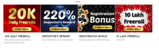 Poker Raj new sign up bonus