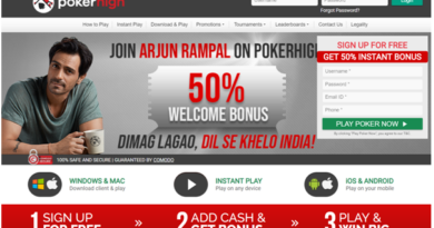 Poker High Bonus