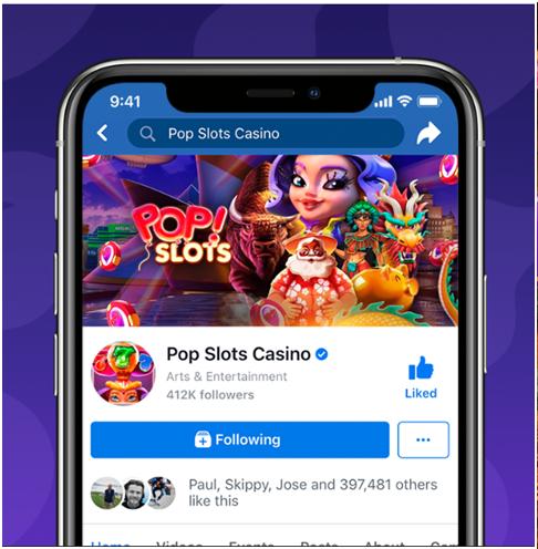 Pop slots facebook